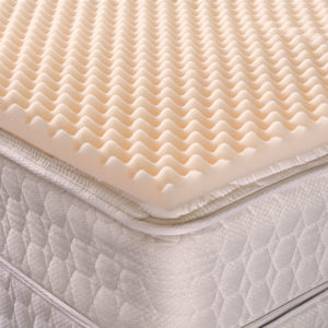 Convoluted Egg Crate Foam Mattress Pads Hospital Fit
