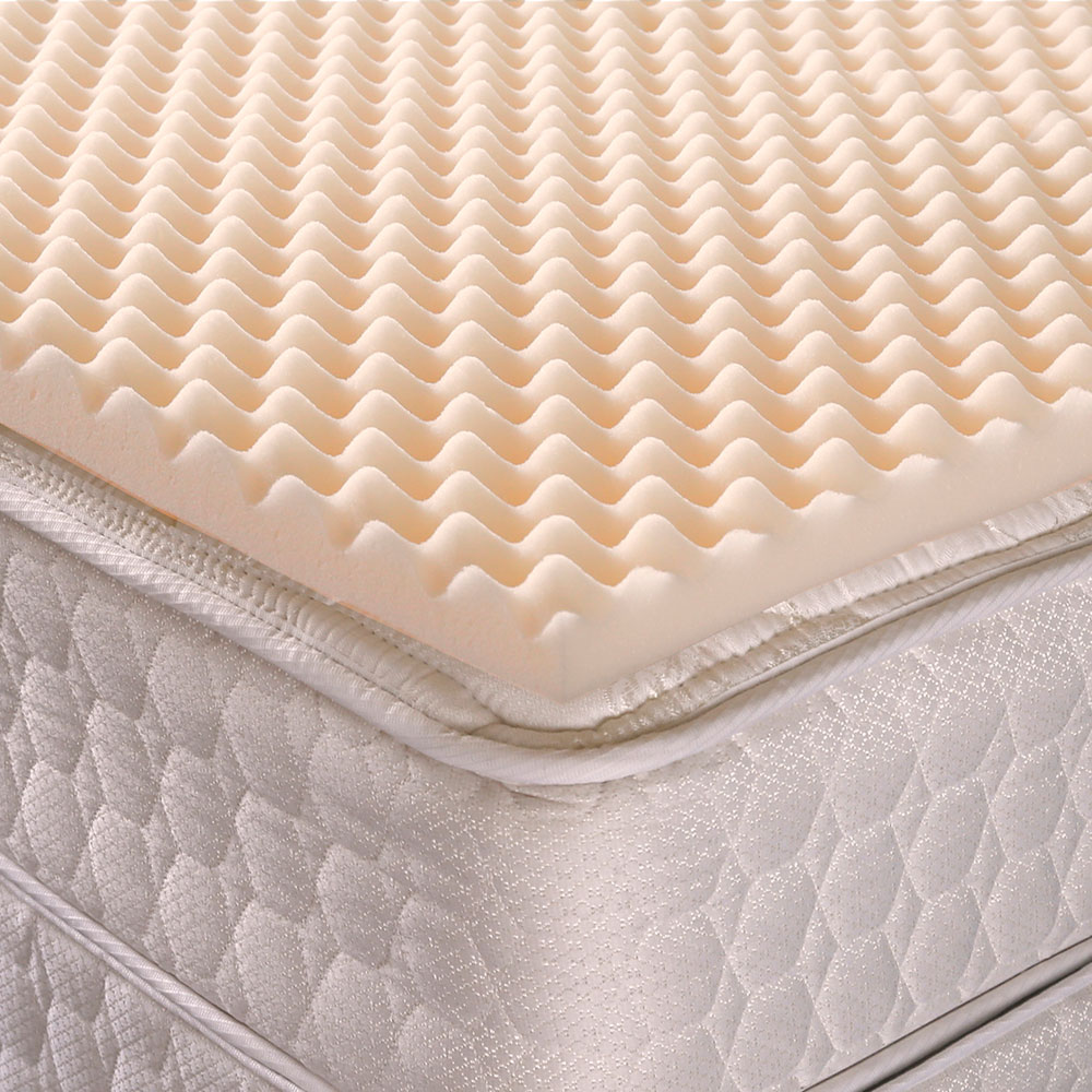 Convoluted Egg Crate Foam Mattress Pads Hospital Fit Geneva