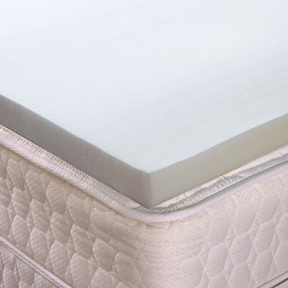 memory inch pad overall topper mattress best hofish foam toppers